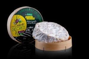 Camembert Fermier BIO AOC du Champ Secret